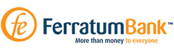 Logotyp för snabblåneföretaget Ferratum